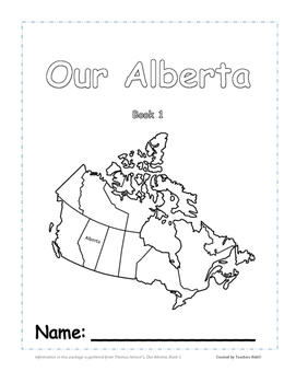Regions of Alberta, Canada - Our Alberta - Book 1 Student Booklet