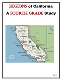 Regions of California : A Fourth Grade Study