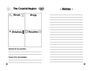 Regions of California - Student Booklet
