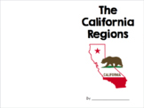 Regions of California - Student Booklet *EDITABLE*