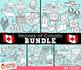 Regions of Canada Clip Art Bundle