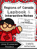 Regions of Canada Lapbook
