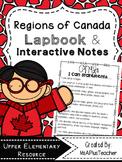 Regions of Canada Lapbook