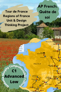 """AP French, French 4: Regions of France """"Tour de France"""" Research Project"""