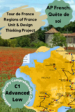 """AP French, French 4: Regions of France """"Tour de France"""" Re"""