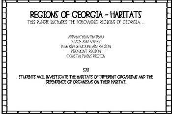 Map Of Georgia 5 Regions.5 Regions Of Georgia