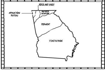 Regions of Georgia - Habitats