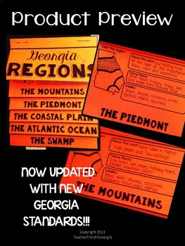 Regions of Georgia Interactive Flipbook- Georgia Regions