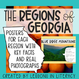 Regions of Georgia Posters