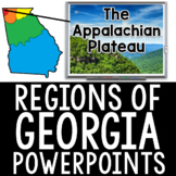 Regions of Georgia PowerPoints and Review