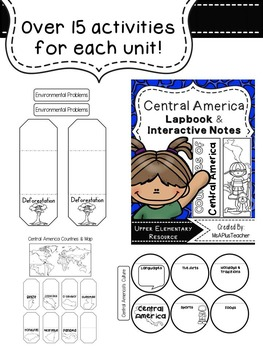 Regions of Latin America Lapbook Bundle