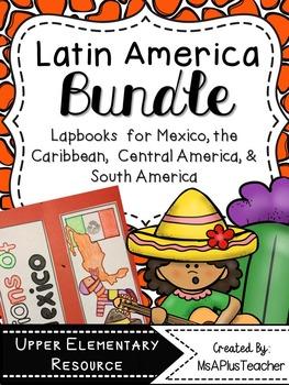 Regions of Latin America Lapbook Bundle
