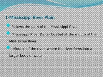 Regions of Louisiana PowerPoint