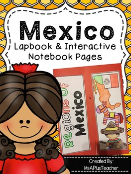 Regions of Mexico Lapbook & Interactive Pages