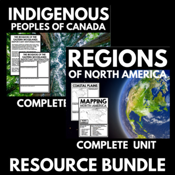 Regions of North America and Native Peoples of Canada Bundle
