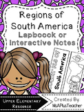 Regions of South America Lapbook