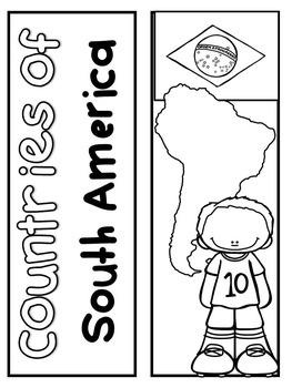 Regions of South America Lapbook