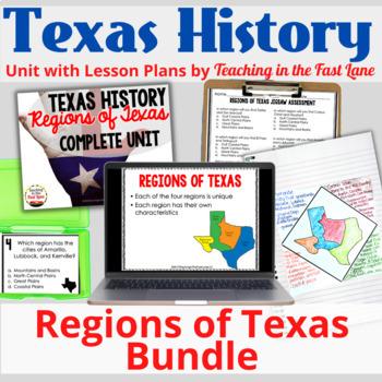 Regions of Texas Bundle