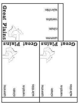 Regions of Texas Flipbook