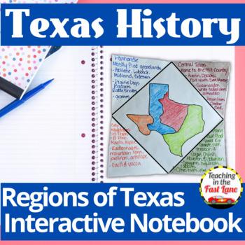 Regions of Texas Notebook Kit