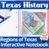 Regions of Texas Interactive Notebook
