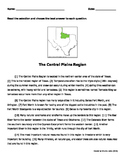 Regions of Texas: History/Social Studies/Writing Revising and Editing Passages