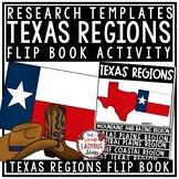 Regions of Texas Flipbook & Texas Regions Activity