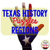 Regions of Texas Puzzle Match Up