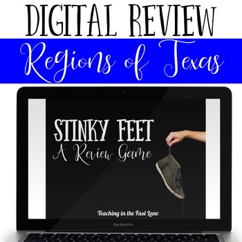 Regions of Texas Review Game Stinky Feet