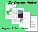 Regions of Texas: The Coastal Plains- Integrating Reading and SS