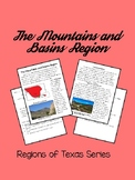 Regions of Texas:The Mountains and Basins Region- Integrating Reading and SS