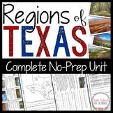 Texas Regions No-Prep Unit