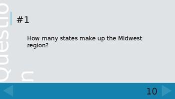 Regions of US Quiz