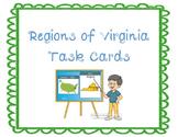 Regions of Virginia Task Cards