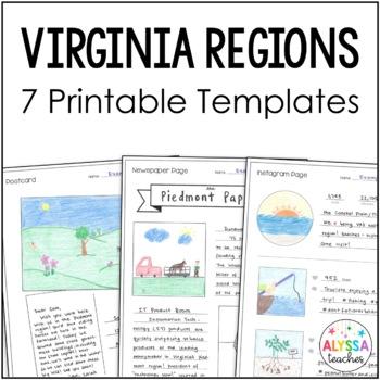 Regions of Virginia Templates (VS.2 & VS.10)