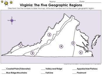 Regions of Virginia: The Five Geographical Regions - Locat