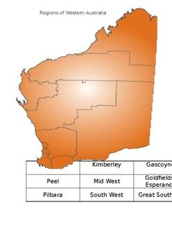 Regions of Western Australia