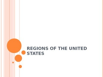 Regions of the US