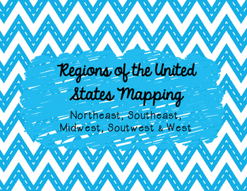 Regions of the US Mapping Activity- Bundle!