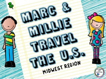 Regions of the U.S. - Midwest States