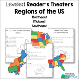 Regions of the US: Northeast, Midwest, Southeast Leveled Reader's Theater