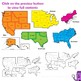 Regions of the USA: Five Regions - Map Clip Art
