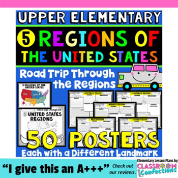 Regions of the United States: 50 US Regions Research Proje