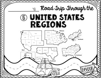 US Regions: Research: 5 Regions of the United States: Regions Activity