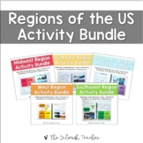 Regions of the United States Activity Bundle