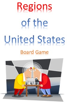 Regions of the United States Board Game