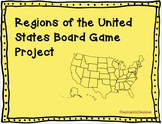 Regions of the United States Board Game Project
