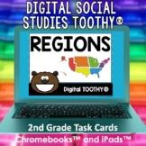 Regions of the United States Digital Social Studies Toothy