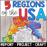Regions of the United States: Fact Fan Distance Learning
