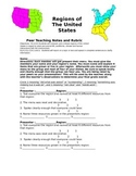 Regions of the United States Menu Project